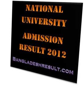 NU-admission-result-2012